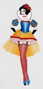 Disney Princesses as Moulin Rouge Dancers 5