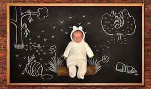 blackboard baby2