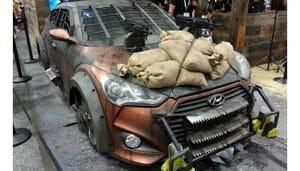 Walking Dead Hyundai Veloster Zombie Survival