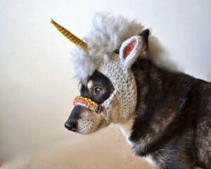 unicron dog mask