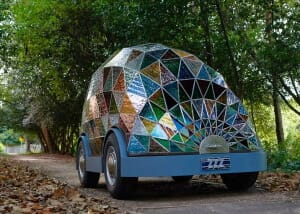 stainedglass car