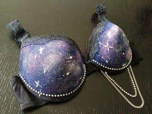 galaxy bra
