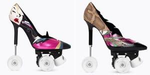rollerskate stilettos