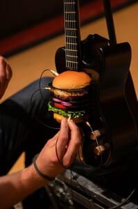 burger guitar