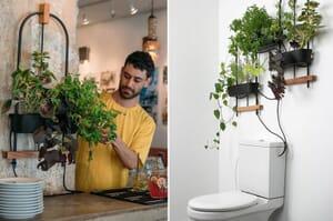 hydroponic planting system
