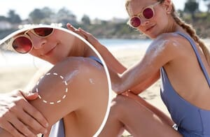 wearable UV protective sticker