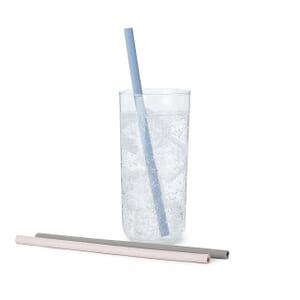 Zippable Silicone Straws