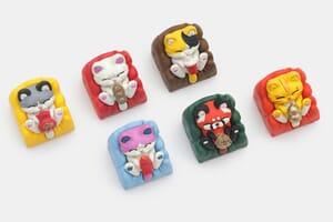 handmade keycaps