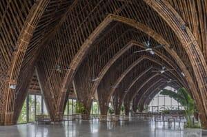 bamboo building