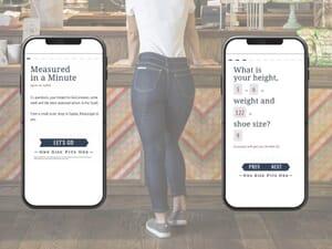 AI-powered denim fitting