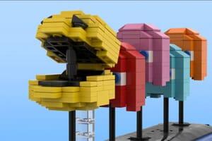 Pac-Man Lego Display