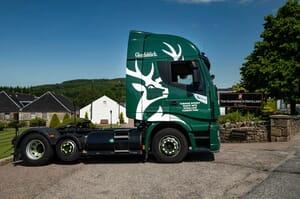 whiskey powered trucks