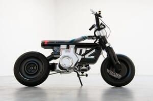 skateboard-inspired motorcycle